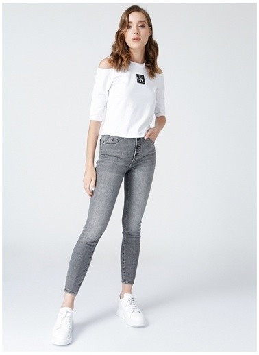 Calvin Klein Jean Pantolon Gri